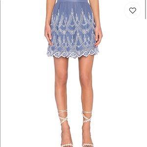 Dresses & Skirts - Kendal & Kylie eyelet circle skirt NWT